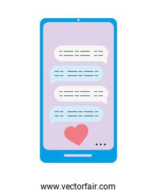 love messages sent by smart phone