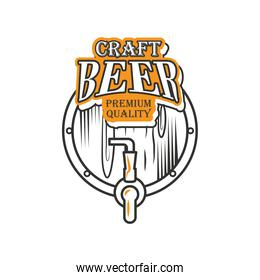 craft beer premiun quality, beer barrel