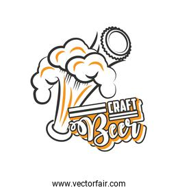 craft beer festival, beer foam
