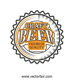 craft beer premiun quality,, bottle cap