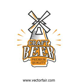 craft beer premiun quality, windmill
