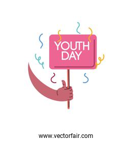 youth day, annual 12 August celebration