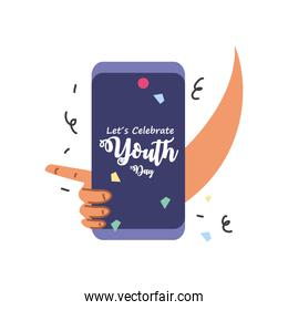 lets celebrate youth day, annual 12 August celebration