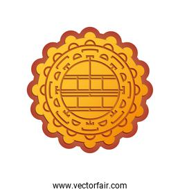 chinese element classic, golden chinese ornament