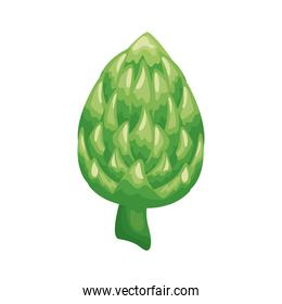 artichoke healthy vegetable detailed style icon