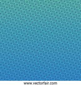 Blue gradient and pattern background vector design