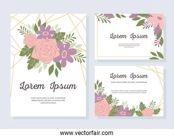 wedding invitation decorative greeting card or announcement