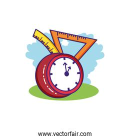 time clock watch with rules