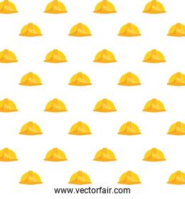 construction helmets tools pattern background