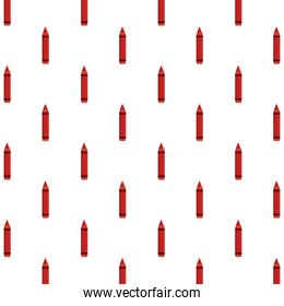 crayons school supplies pattern background