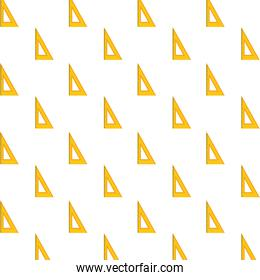 rules school supplies pattern background