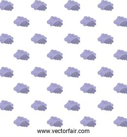 clouds sky floating pattern background