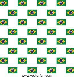 brazil flags country pattern background