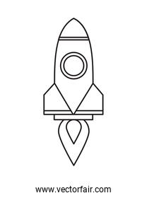 rocket launcher startup linear style
