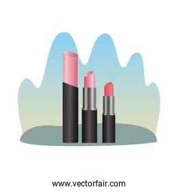 make up lipsticks products icons