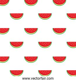 watermelons fresh delicious fruits pattern background