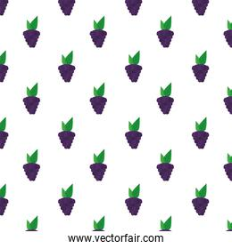 grapes fresh delicious fruits pattern background