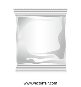 gray packing bag product icon