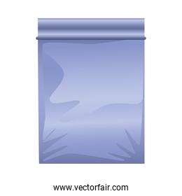purple packing bag product icon