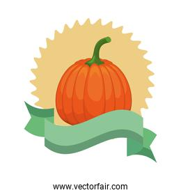 pumpkin healthy vegetable detailed style icon