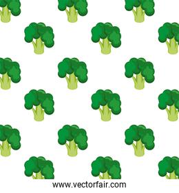 fresh broccoli healthy vegetables pattern background