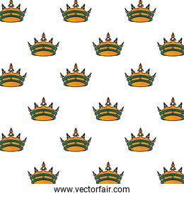 crowns royal tattoo artistic pattern background