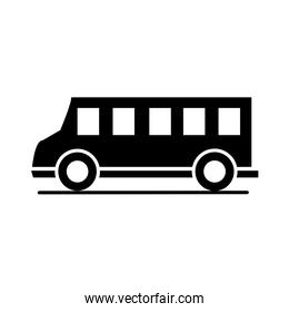 car model transport vehicle silhouette style icon design