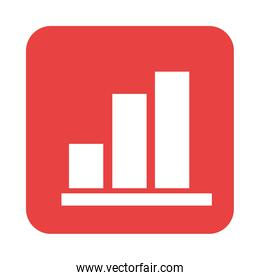 mobile application report function web button menu digital flat style icon