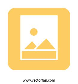 mobile application image gallery web button menu digital flat style icon