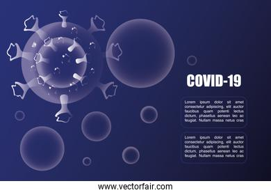 coronavirus disease or covid 19, floating China pathogen respiratory influenza virus cells
