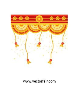 decorative garland for the indian festival