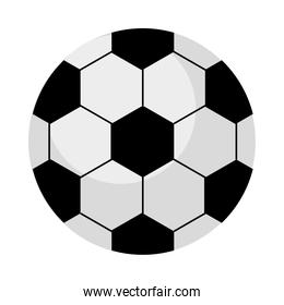 soccer balloon sport equipment icon