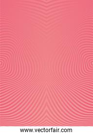 waves and forms pink color background