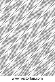 monochrome waves and forms background