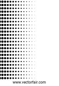 monochrome dotted style pattern background