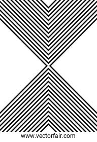 monochrome geometric figures and lines background