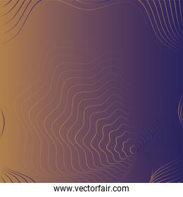 waves and forms mix colors background