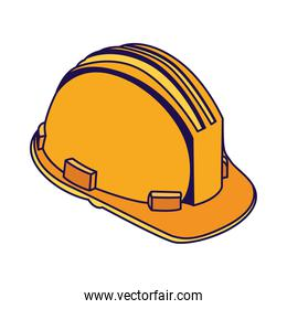 construction helmet accessory isolated icon