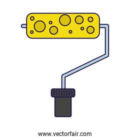 paint roller equipment tool icon