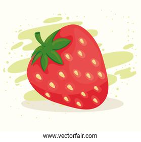 fresh and healthy delicious strawberry