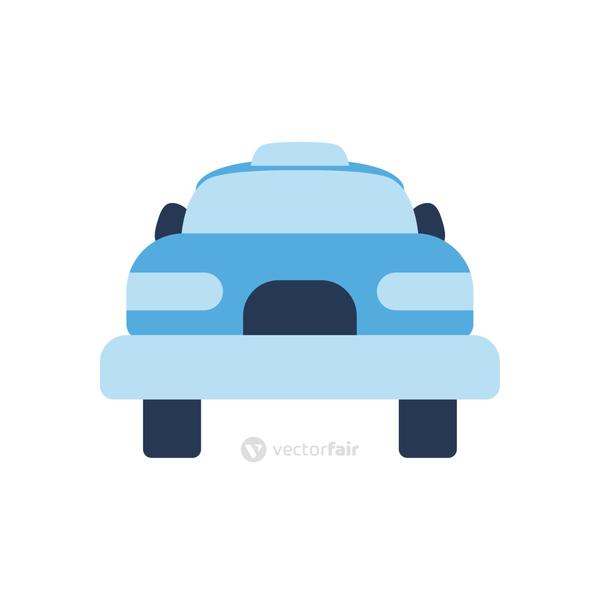 Isolated car flat style icon vector design