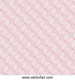 Cute red pattern background