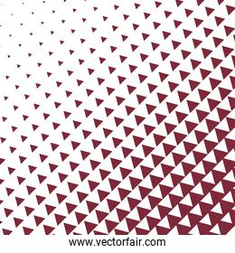 red triangle pattern background vector design