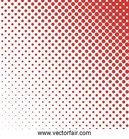 red pointed background vector design