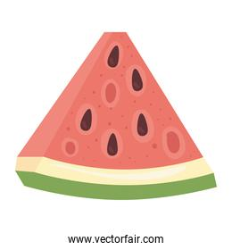 fresh and healthy slice of watermelon