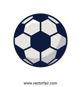 soccer sport balloon line and fill style icon