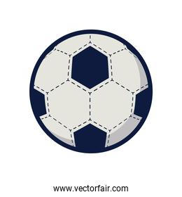 soccer sport balloon style line and fill icon