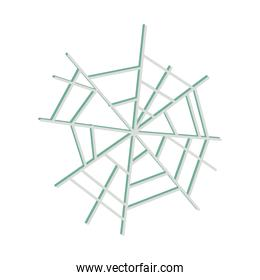 spider web icon on white background flat icon design design