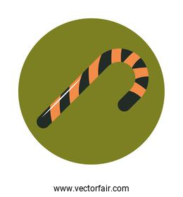 stripes candy can confectionery sweet flat and block icon