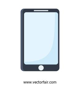 smartphone device technology digital isolated on white background